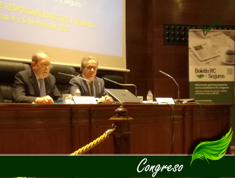 Brilliant XII Congress of RC and Insurance of the Bar Association of Zaragoza